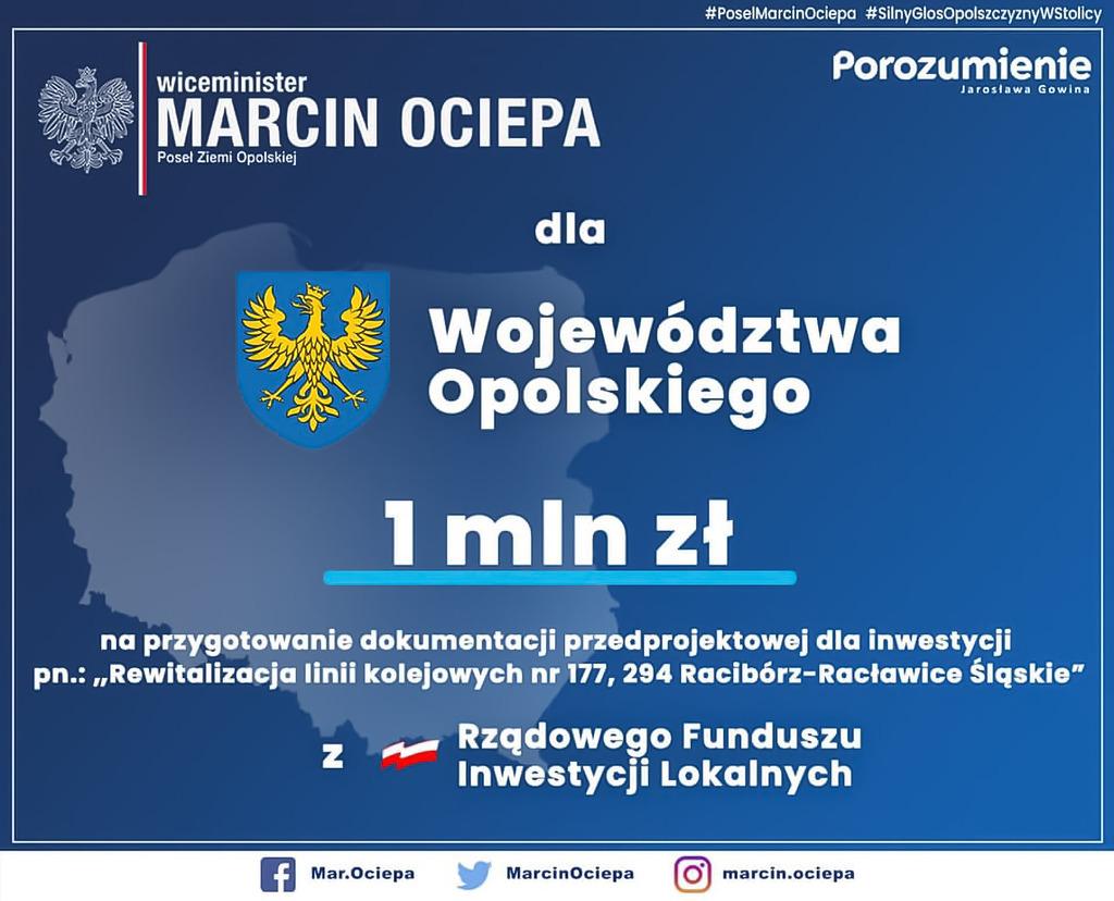 Województwo Opolskie - 1 mln na plany linii PKP-Poprawione.jpeg