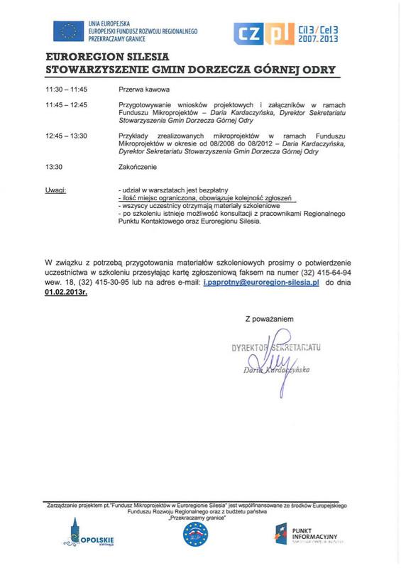 Zaproszenie na szkolenie w dniu 05.02.2013r. w Głubczycach_2.jpeg