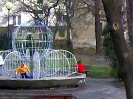 Galeria Dewastacja oświetlenia fontanny