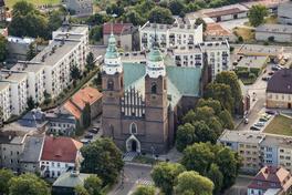 Kościół Parafialny pw. NNMP - widok z lotu ptaka