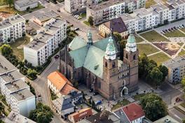 Kościół Parafialny pw. NNMP 2 - widok z lotu ptaka